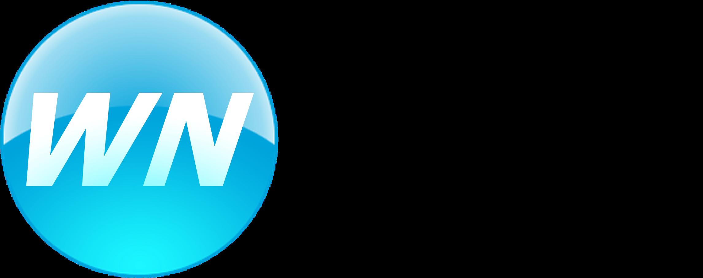 Western Networks Vista Logo Complete (Black Text) - Large